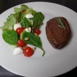 Biefstuk met rozemarijn en knoflook
