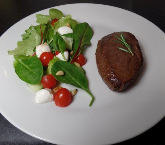 Biefstuk met rozemarijn en knoflook fodmap