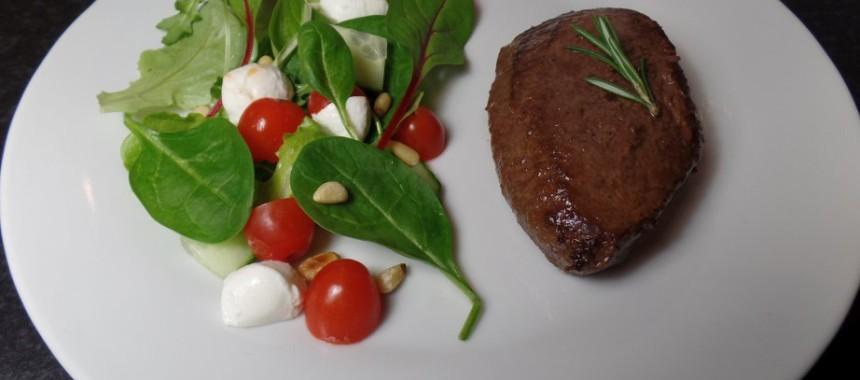 Biefstuk met rozemarijn en knoflook (fodmapproof!)