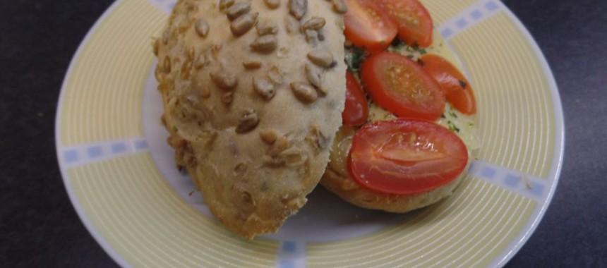 Italiaans broodje uit de oven