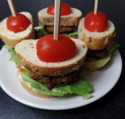 Minibroodje hamburger fodmap