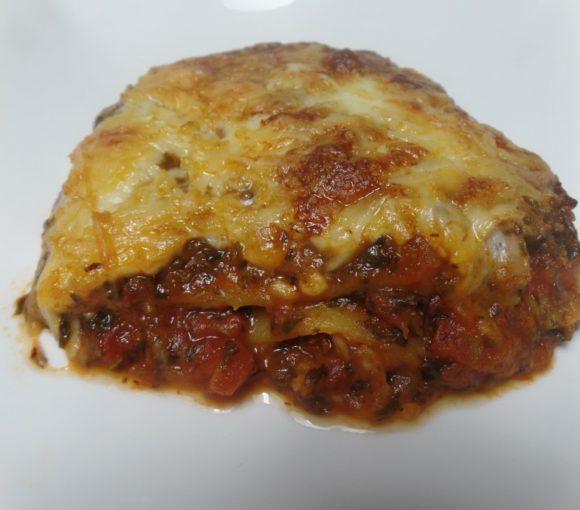 Lasagne met spinazie fodmap