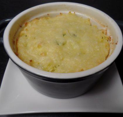 Aardappelgratin met bieslook fodmap