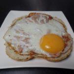Broodje spiegelei met bacon