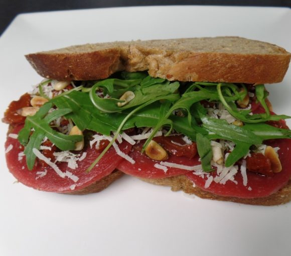 Broodje carpaccio fodmap