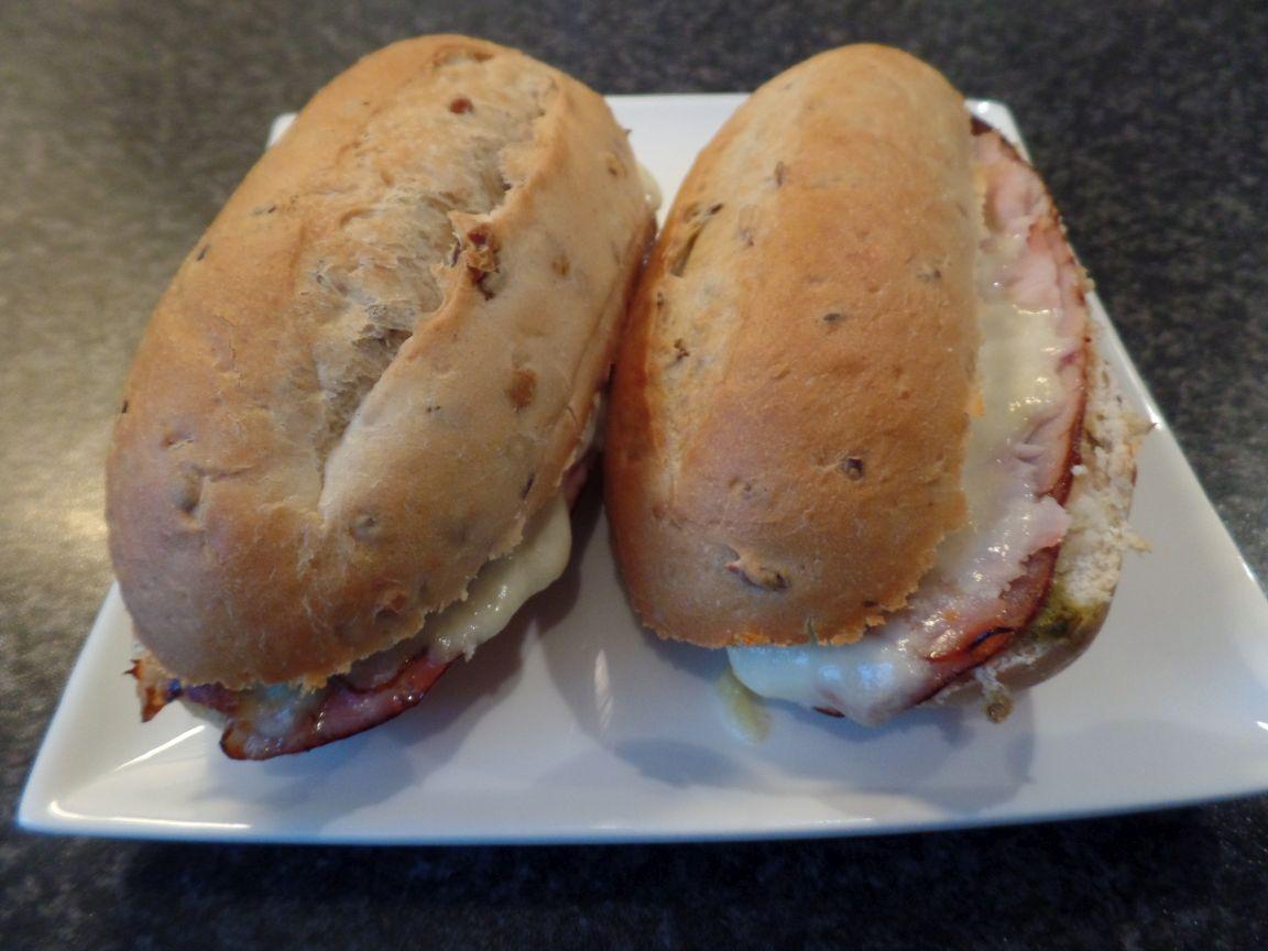 Luxe broodjes met casselerrib