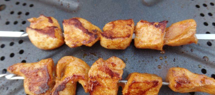 Kipspiesjes voor op de barbecue