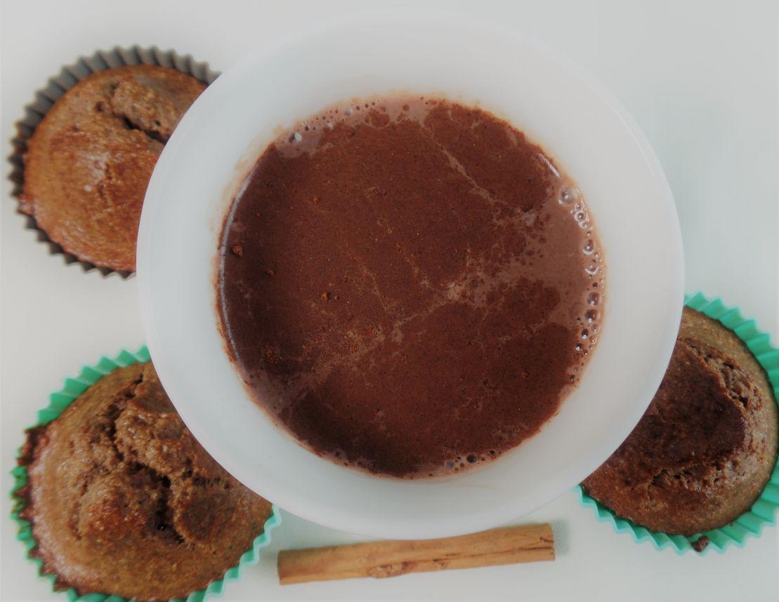 Warme chocolademelk met kaneel fodmap