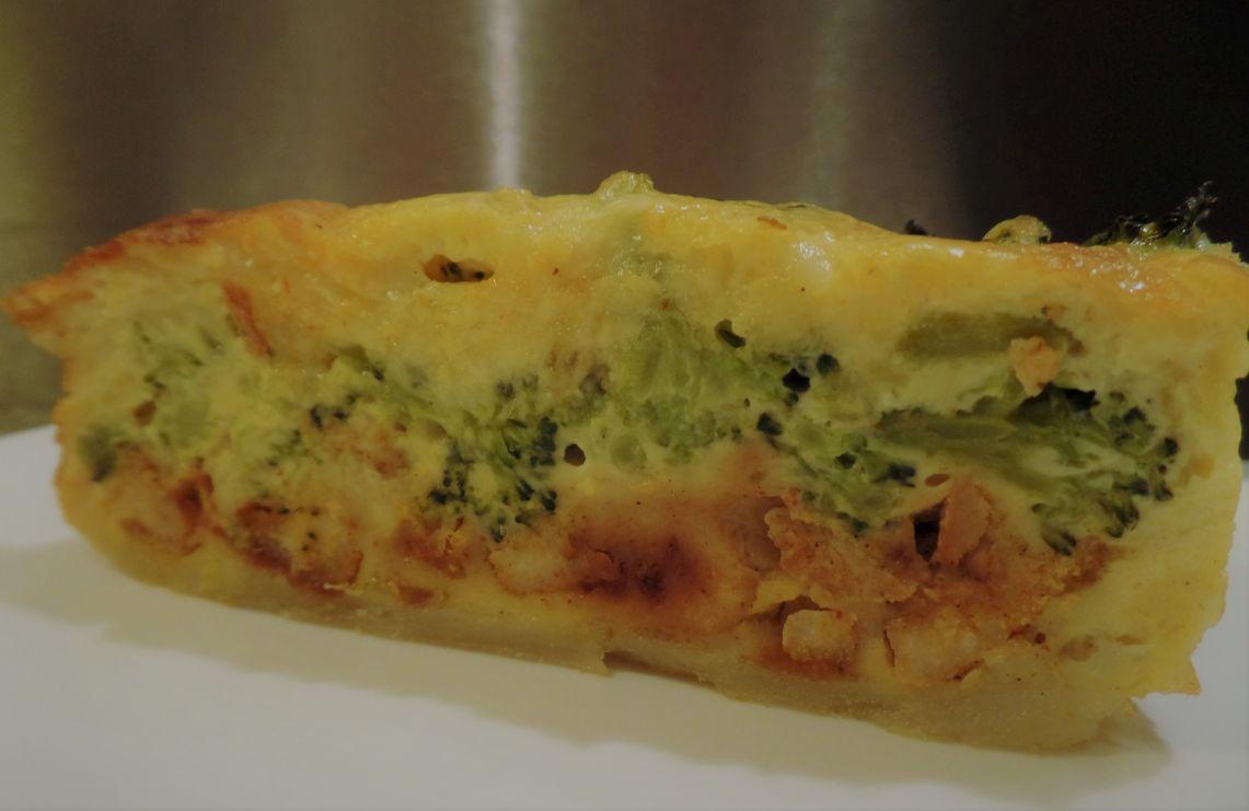 Broccoliquiche met kip fodmap