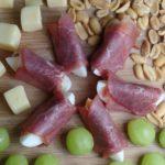 Eihapje met runderrookvlees