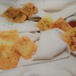 Mini kaascrackers in drie smaken