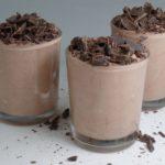 Snelle luchtige chocolademousse